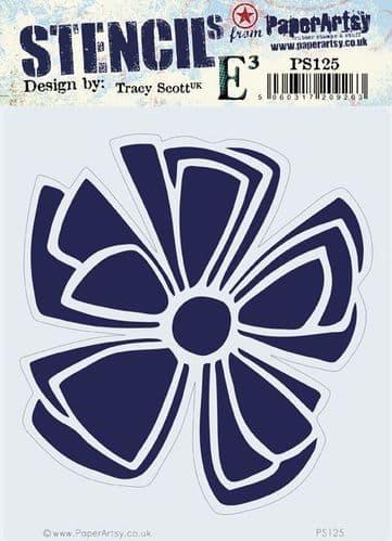 PaperArtsy - Stencil -Tracy Scott #125