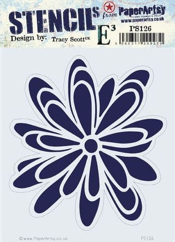 PaperArtsy - Stencil -Tracy Scott #126