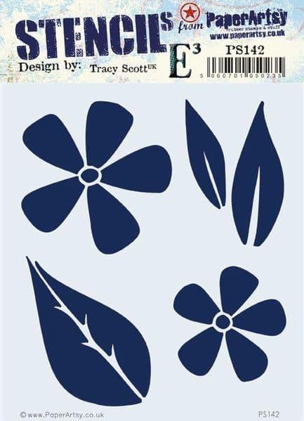 PaperArtsy - Stencil -Tracy Scott #142