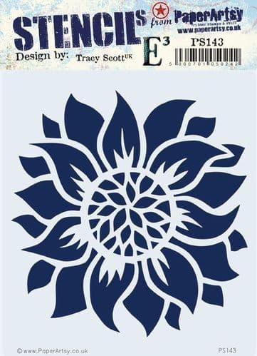 PaperArtsy - Stencil -Tracy Scott #143