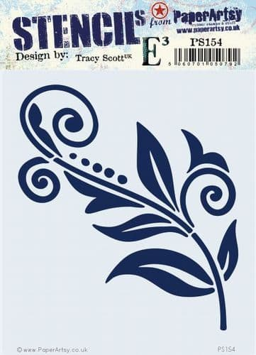PaperArtsy - Stencil - Tracy Scott 154