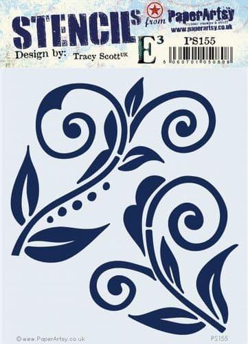 PaperArtsy - Stencil - Tracy Scott 155