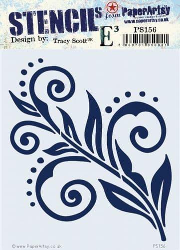 PaperArtsy - Stencil - Tracy Scott 156
