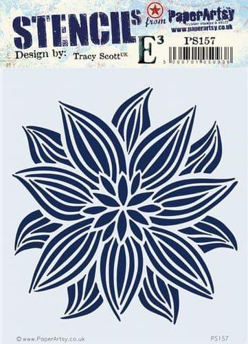 PaperArtsy - Stencil -Tracy Scott 157