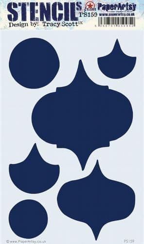 PaperArtsy - Stencil - Tracy Scott 159