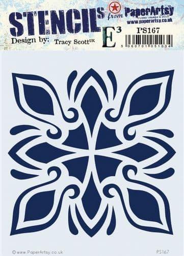 PaperArtsy - Stencil - Tracy Scott 167