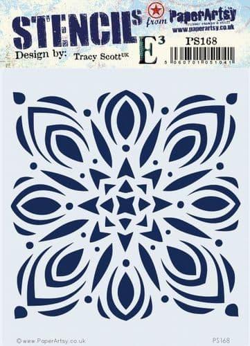 PaperArtsy - Stencil - Tracy Scott 168