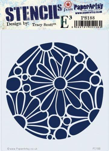 PaperArtsy - Stencil - Tracy Scott 188