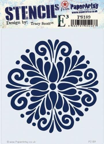 PaperArtsy - Stencil - Tracy Scott 189