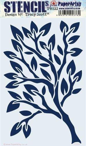 PaperArtsy - Stencil - Tracy Scott #233