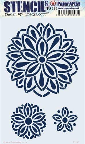 PaperArtsy - Stencil - Tracy Scott #242