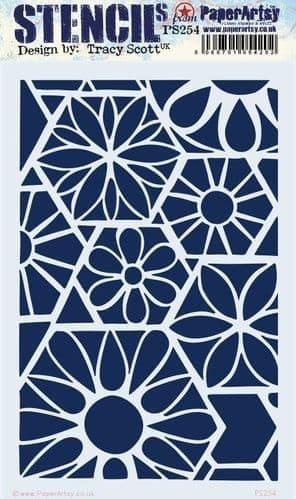 PaperArtsy - Stencil - Tracy Scott #254