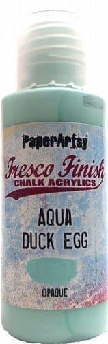 PaperArtsy - Tracy Scott Paints - Singles - Aqua Duck Egg