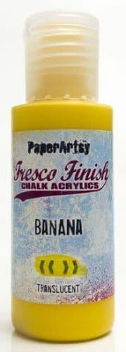PaperArtsy - Tracy Scott Paints - Singles - Banana