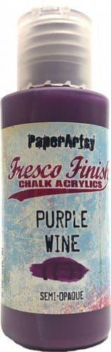 PaperArtsy - Tracy Scott Paints - Singles - Purple Wine