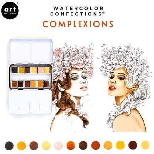 Prima - Watercolor Confections Watercolor Pans - Complexion