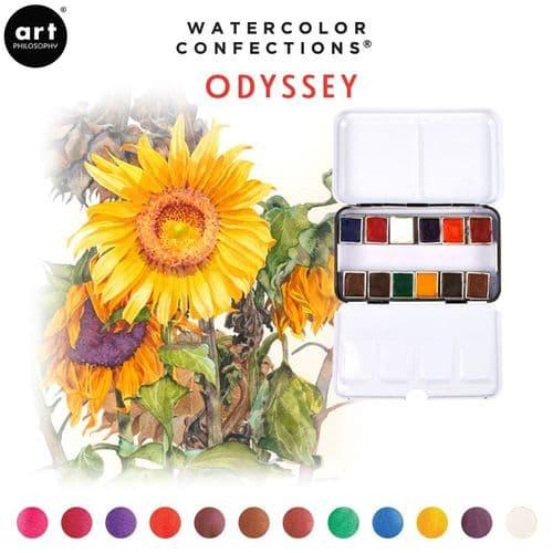 Prima - Watercolor Confections Watercolor Pans - Odyssey