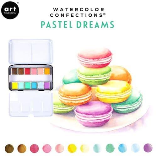 Prima - Watercolor Confections Watercolor Pans - Pastel Dreams