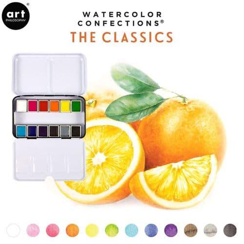 Prima - Watercolor Confections Watercolor Pans - The Classics