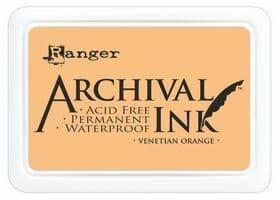 Ranger - Archival Ink Pad - Venetian Orange
