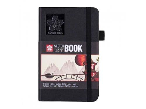 Sakura - Sketchbook - 9x14cm Black