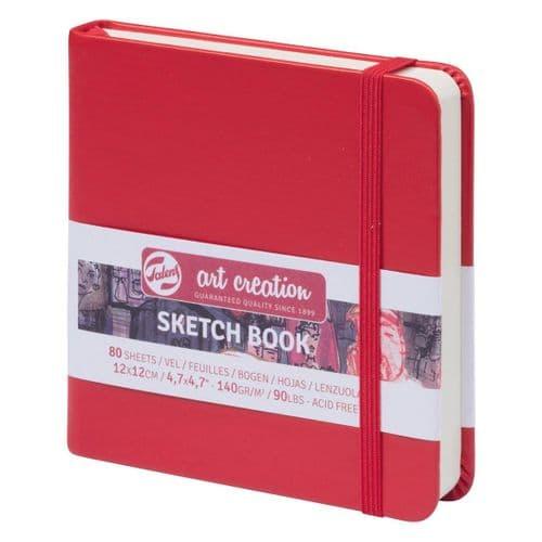 Talens - Art Creation - Sketchbook 12x12cm - Red