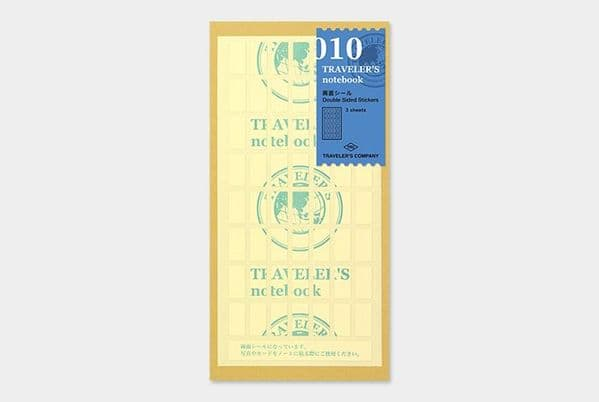The Traveller's Company - Refills - #010 Double Sided Stickers