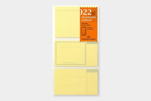 The Traveller's Company - Refills - #022 Sticky Notes
