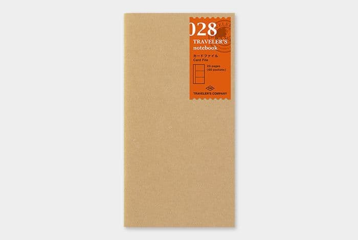 The Traveller's Company - Refills - #028 Card File