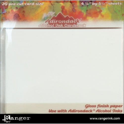 Tim Holtz - Alcohol Ink - Cardstock 20 sheets