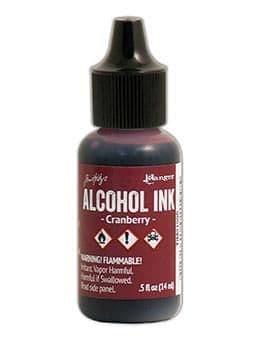 Tim Holtz - Alcohol Ink - Cranberry