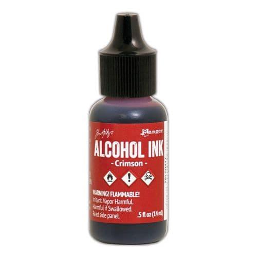 Tim Holtz - Alcohol Ink - Crimson