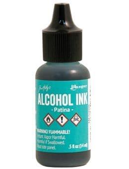 Tim Holtz - Alcohol Ink - Patina