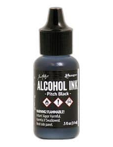 Tim Holtz - Alcohol Ink - Pitch Black