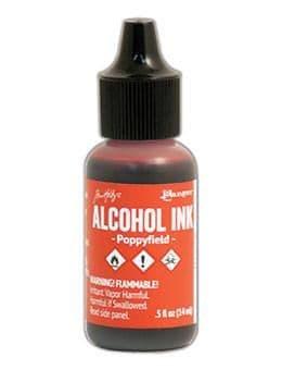 Tim Holtz - Alcohol Ink - Poppyfield
