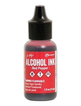 Tim Holtz - Alcohol Ink - Red Pepper