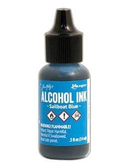 Tim Holtz - Alcohol Ink - Sailboat Blue