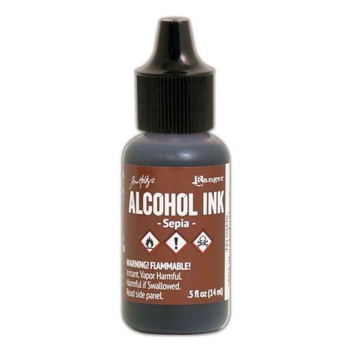 Tim Holtz - Alcohol Ink - Sepia