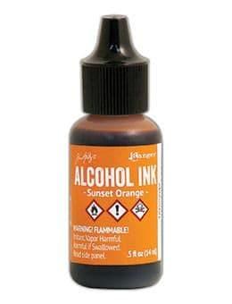 Tim Holtz - Alcohol Ink - Sunset Orange