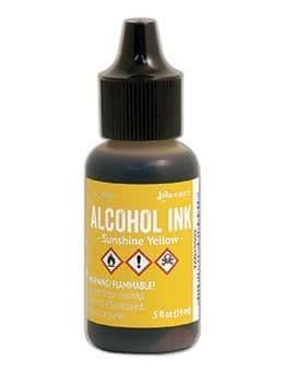 Tim Holtz - Alcohol Ink - Sunshine Yellow