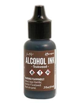 Tim Holtz - Alcohol Ink - Teakwood