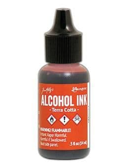 Tim Holtz - Alcohol Ink - Terracotta