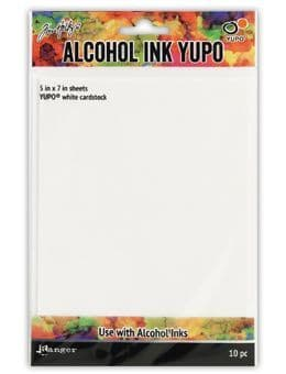 Tim Holtz - Alcohol Ink Yupo Paper - White 86lb - 5x7""