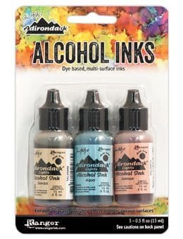 Tim Holtz - Alcohol Inks - Lakeshore