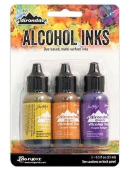 Tim Holtz - Alcohol Inks - Summit View