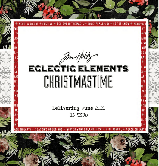 Tim Holtz - Christmastime Collection