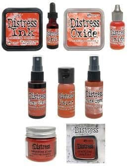 Tim Holtz Distress - Crackling Campfire Collection