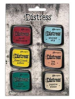 Tim Holtz - Distress Enamel Pins - Collection #10