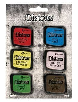 Tim Holtz - Distress Enamel Pins - Collection #5