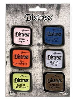 Tim Holtz - Distress Enamel Pins - Collection #6